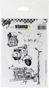 Carabelle Studio Cling Stamp A6-Voyage Pour Globetrotter