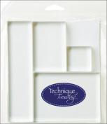 Technique Tuesday Clear Stamping Blocks 4/Pkg-3.8cm x 3.8cm , 5.1cm x 7.6cm , 3.8cm x 15cm & 7.6cm x 10cm