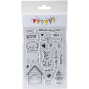 Jane's Doodles Clear Stamps 10cm x 15cm -Dogs