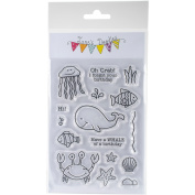 Jane's Doodles Clear Stamps 10cm x 15cm -Under The Sea