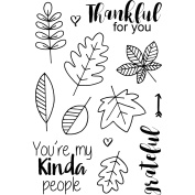Jane's Doodles Clear Stamps 10cm x 15cm -Thankful