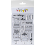 Jane's Doodles Clear Stamps 10cm x 15cm -Cake!