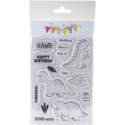 Jane's Doodles Clear Stamps 10cm x 15cm -DINOmite