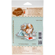 DreamerlandCrafts Cling Stamp 10cm x 18cm -For Someone Special