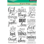 Penny Black Clear Stamps 13cm x 18cm -All Great Things