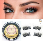 FlairBeauty Magnetic False Eyelashes Extensions. Fake Reusable Magnet Lashes