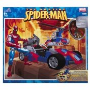 1999 Mega Bloks Magnetic Marvel - The Amazing Spider Man Action Vehicle Set