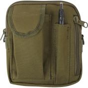 Olive Drab - Tactical MOLLE Military Excursion Organiser Shoulder Bag