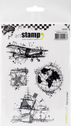 Carabelle Studio Cling Stamp A6-To Travel