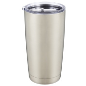 AMIR Stainless Steel Tumbler for Christmas Gifts, Double Wall Vacuum Insulated Tumbler Cup with Anti-splash Lid , Keeps Cold or Hot, 590ml