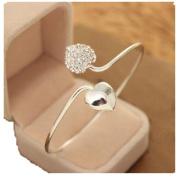 Vasyle Korean fashion bracelet female diamond diamonds love classic classic OL open bracelet
