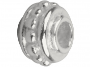 Sterling Silver Round 6mm Fancy Bead