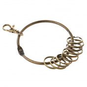 Chytaii Key Ring Keychain Ring Keyring Clip Swivel Lobster Clasps