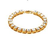 LX Diamond Diamond Bracelet , gold