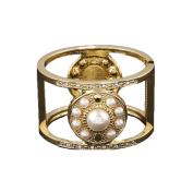 LX Pearl bracelet bracelet jewellery electroplating open wide hollow diamond jewellery jewellery , gold
