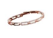 LX Fashion exquisite diamond temperament Gold Bracelet , main colour