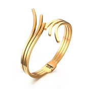 Caiyan Gold opening stainless steel Bracelets for Women