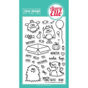 Avery Elle Clear Stamp Set, 10cm x 15cm , Monsters