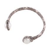 Canyan Genuine leather pearl fashion bracelet , A