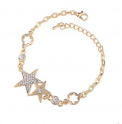 Canyan Five-pointed star female diamond bracelet , A