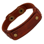 Wangjianfeng Vintage Punk Original Leather bracelet
