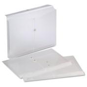 Pendaflex Legal Size Clear Poly String Envelopes