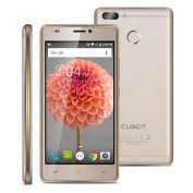 Cubot H3(2018)Unlocked 4G Smartphone 13cm Android 7.0 6000mAh Huge Battery 3G RAM 32G ROM MT6737 Quad-Core 1.3GHz Dual SIM Dual Rear Cameras(13.0MP & 0.3MP) Front Camera 5.0MP Fingerprint OTG Notification LED SIM-Free Mobile Phones-Gold