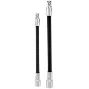Neiko 00239A Flexible Extension Bar Set, 0.6cm ./1cm ., 2 Piece