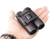 30x60 Compact Small Binoculars Powerful Folding Telescope With Clean Cloth and Carry Case, Lightweight Pocket Binoculars For Adults, kids, Bird Watching, Astronomy