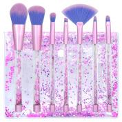 Makeup brushes Set Crystal Quicksand Professional Foundation Makeup Brush Cosmetics Tools Beauty Tools Blending Powder Eyeshadow Eyebrow Blush With Bag