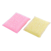 2 Pcs Sponge Padded Cleaning Scrubbing Pads Kitchenware Cleaning Tool