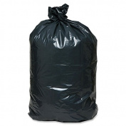 Handi.bag Coreless Heavy-duty Contractor Bag - 159l- 80cm X 120cm - 2.50 Mil [63 Micron] Thickness - Low Density - Linear Low-density Polyethylene [lldpe] - 50/carton - Black