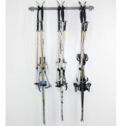Monkey Bar Storage 3 Ski Storage Wall Mounted Rack