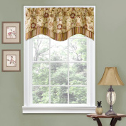 Traditions by Waverly Navarra Floral Window Valance