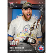 Chicago Cubs Ben Zobrist #664A Topps Now Named MVP