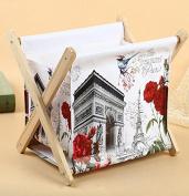 SQL Water-resistant canvas cloth folding shelves home shelves , a