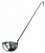 Paderno 11970-11 Unipezzo Ladle, Stainless Steel, 11 cm