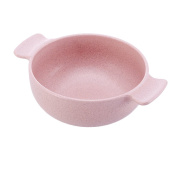 Uminilife Eco-Friendly Kitchen Bowl For Family Kid and Adult Made From Natural Wheat Straw For Travel Dinnerware