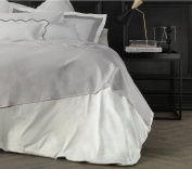Suite 2603 by Prince Adolphus Carrara Studio Design Top Sheet, 100% Cotton, Double, 39 x 26 x 4 cm 39x26x4 cm Madreperla