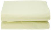 Garnier-Thiebaut 29428 Lana flat sheet cotton green 320 x 280 cm