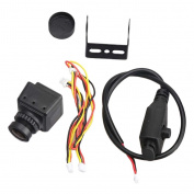 MagiDeal Mini Camera MS-1675 600TVL 2.3mm Lens PAL IR Blocked for RC Racing Drone Parts