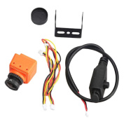 MagiDeal Mini Camera MS-1675 600TVL 2.5mm Lens NTSC IR Blocked for RC Racing Drone Parts