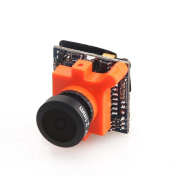 MagiDeal MS-1672 600TVL 2.1mm Lens NTSC IR Blocked Camera for RC Racing Aircraft Drone Parts Orange