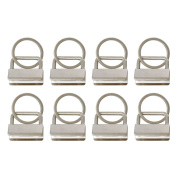 8 pieces Webbing Buckle EX209 with Keyring for 25 mm Wide Strap