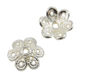 20 Bright Flower Bead Cap 12mm Jewellery Findings 37887-207