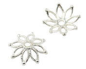 20 Flower Bead Cap 19mm 37887-186