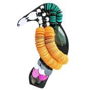 Scrox Fashion Elegant Brooch Colourful Brooch Women Corsage Wedding Bridal Brooch Pin Scarves Shawl Clip Women's Ladies Beautiful Charm Ornament Jewellery Design