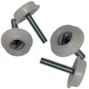 4 X New Headboard Bolts Screws With Plastic Washers for Divan Beds