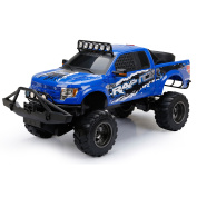 New Bright RC 1:6 Scale Ford Raptor Truck, Blue