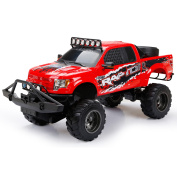 New Bright RC 1:6 Scale Ford Raptor Truck, Red